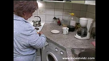 ill kitchen sex help mom in video my Big ass and tits ssbbw granny fucks bbc