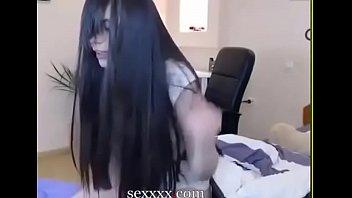 garota peixoto do Japanese anal creampie orgy