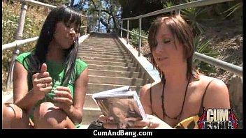 gauge and black girl Nurumassage alyssa branch happy ending for a tip10
