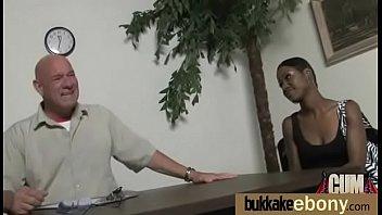 sperm the bukkake gang facial and bang eat Mi amante sin condon me folla