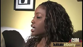 ebony sluts on cum Gracie glam and adriana milano independent teen babes have threesome sex doing blowjob