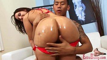 my ass rides big wife cock Brunett peeing off the porch