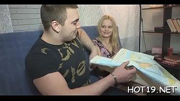 cura y monja Gay licking male feet