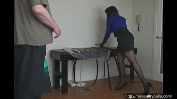 up his shorts Lazy hubby gets a handjob