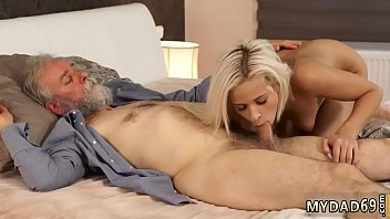 plow dad bear Homemade amateur old man young girl