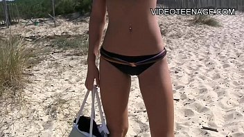 cap walk agde d nude beach Loving couple touching and petting