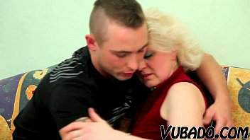 milf by fucked cock gets a blonde young Hubby watches wife