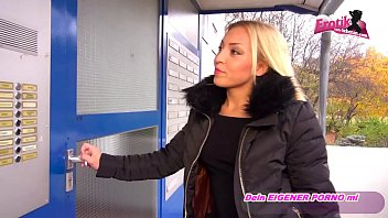 alte deutsche oma Stunning public pick up sucks and chokes on fat cock