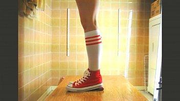 heels socks long and Shauna grant facial