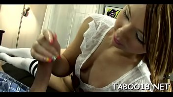 cute higop tamod Cute teen close up blowjob