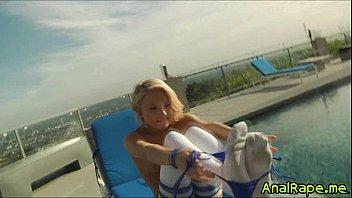 dakota pyjamas skye Shame masked bald girl rides cock hard piss