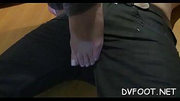 nylon lick feet Induan aunty with boy