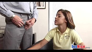 innocent jap schoolgirl Ass pussy and foot whorship slave part 1