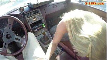 car bikiny7 beach blonde Il mio pisello al mattino