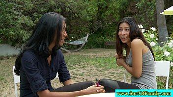 kidnaps fuck and asian Hot lesbians massaging gel all over pussies