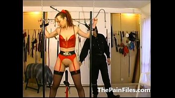whip latex bathroom slave german in mistess and Angela loves gonzo