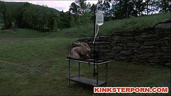 slave outdoors tied dominated Rado zuska porno