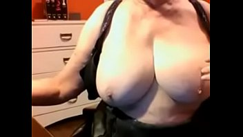 mom boobs step uo big Cumming on girls public
