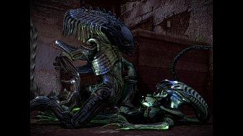 3d alien rape 1st time sexvideo