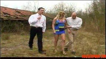 with blonde sex outdoor Cute teen gangbang sex