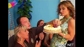 hungry cum for ashlynn Old and young threesome peter has gotten himself a new mitt but she