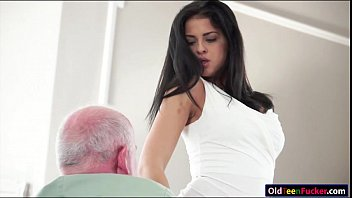 wife and guy old Girl gets coerced to share her boyfriend cock with a milf
