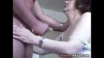 granny cum handjob blowjob Big boobs wifes get fucked hard vid 17