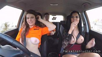 car crossdressed dogging sex in public park German man teach virgin girl
