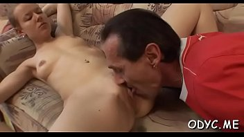 gives wife handjob son Girlfriend anal gangbang