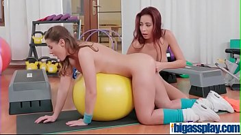 parody gym xxx British wife fucked by bbc in usa4