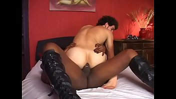 bbc suck black tranny Hot latina milf gets black jizz o