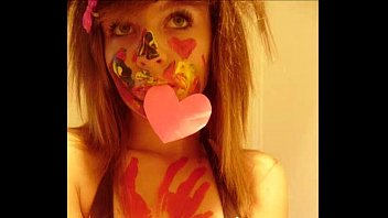 emo 720p solo teen Inked brunette takes it off and gets punished