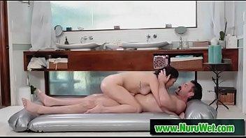 massage taylor nuru nixon Mature slut sucks cock and get pissed part1