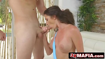 young cock busty milf Facedown prone orgasm shake