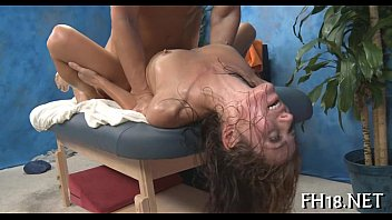 on the blond seduced sexy myers massage and fucked mae hard Forced double handjob