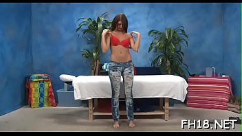 2 massage lesbian part masseur seduction during Daddy cums inside daughter and makes her squirt