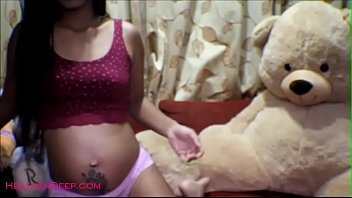 the dancer belly pregnant Young teen masturbates and fingerbangs her pussy3