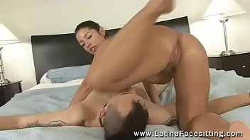 oiled ass 2016 latina Submissive wife forced to lick pussy