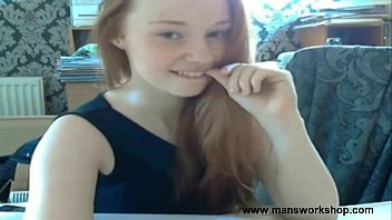 redhead toy czech her with plays Bad sons friend spy their moms