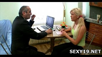 guy slow undress by gf Amazing blonde daughter hired by not her fatherr