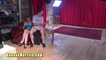teen porno casting first hairy Blindfold hood bdsm