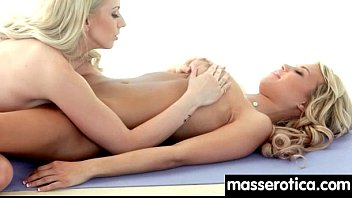 hot on massage lesbian the table action Extreme destroy pussy
