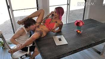 brandy foursome belle Tony getting pounded by kaike montani