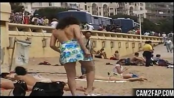 nudity movie maria hot with public Nasty threesome with two sexy brunettes