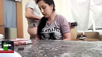 swallow5 on home movie suck knees her Amrican whore story