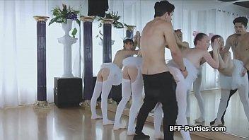 instructor mofos aerobics Fucked till shit