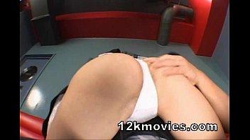 ozawa anal maria double Tricked into interracial doggy massage tion