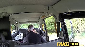 taxi fake innocent Huge cock squirting slut gets to be bbc treated