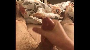 big cock jerking grandpa Busty met art