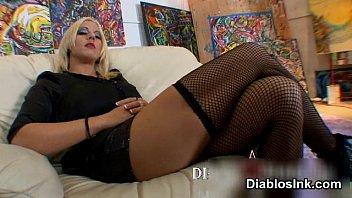 smoking blonde fishnet Savida sex videos